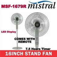 Mistral MSF1679R 16 Stand Fan  COMES WITH REMOTE