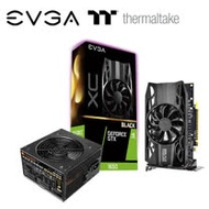Thermaltake曜越 TR2 PRO 500W 電源供應器 + 艾維克EVGA GTX1650 4G XC Black GAMING 顯示卡