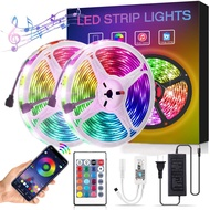 LED Strip Lights,GOADROM Smart 32.8FT WiFi LED Strip Lights Works with Alexa, Brighter 5050 LED Phone App Controlled Music Light Strip for Home, Kitchen, TV, Party, for iOS and Android,Waterproof Tape