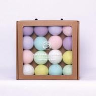 Cocoball LED氣氛棉球燈串 - baby pastel