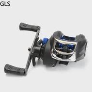 GLS 2021NEW AK200 Baitcasting Reel 7.2:1Gear Ratio Max Drag 8KG Reel Aluminum Spool Casting Fishing Reel casting reel