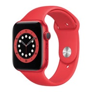 福利品_Apple Watch Series 6 (GPS) 44mm - 紅色(M00M3TA/A)-九成新