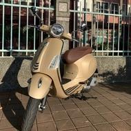Vespa Primavera 125 abs 琺瑯棕