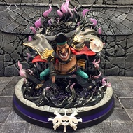 instock one piece sd version 24cm Marshall D Teach Battle Stance gk resin statue Figure for Collection.