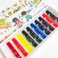 [預購]日本製 KOKUYO透明蠟筆(螢光色系) 10色