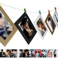 🌸明星卡片🌸高以翔寫真照片墻 遇見王瀝川周邊寫真集照片定制 麻繩懸掛夾子