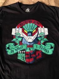 鋼鐵吉克 永井豪 安田達矢 超機人 古著 短袖T恤