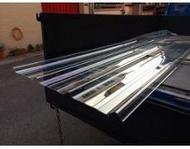 【恒利豐】PC五槽角浪板 (透明1.0mm)遮雨棚