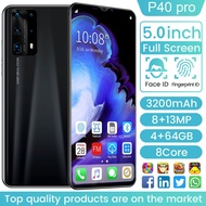 Ready Stock Original 2020 Hot P40 Pro Smartphone 4g 64gb / 128 / 256gb Large Memory Mobilephone 5g Network Smart Phone 5.0 inch