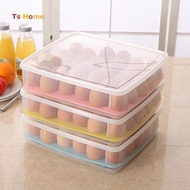 Refrigerator Egg Storage Box 30 Eggs Holder Food Container Freshcare Organizer