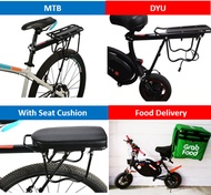 Bicycle Rack bicycle Rear rack bicycle rear seat escooter accessories DYU rack delivery bag rack