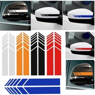 AREZ_Rearview Mirror Strip Stickers Car Decor Reflective PET Decal for Mercedes Benz