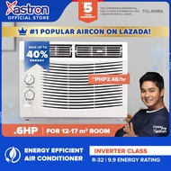 Astron Inverter Class .6 HP Aircon (window-type air conditioner   TCL-60MA   built-in air filter   anti-rust body   9.9 energy rating   white) (formerly Pensonic aircon)   aircon for small room