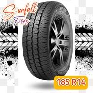 185 r14C Sunfull Tire for Light Truck Bonggo Front