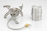 【Wen Liang 文樑 台灣】旋風爐 附二個不銹鋼碗和收納袋 登山爐 瓦斯爐 露營爐具 (WL9712 )