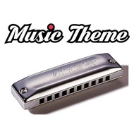 Hohner Meisterlasse 10 Hole Harmonica. Made In Germany.