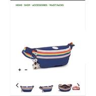 Kipling凱浦林Kip&UO聯名復古系列美式風格 男女包腰包胸包AC8269/K01896猴子包防水包