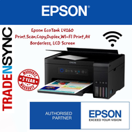 GREAT COST SAVING!!! DUPLEX PRINT !!! EPSON L4260 7500 PAGES BLACK 6000 PAGES COMPOSITE COLOR PRINT (Print /Scan/Copy/Wifi/Wifi Direct/iPrint) PRINTER   2yr warranty