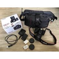 二手 Canon 700D 含鏡頭、盒子、充電器、電池等