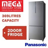 PANASONIC NR-BX468XSS1/GWS1/GKS1 369L 2 DOORS REFRIGERATOR / FRIDGE / LOCAL WARRANTY