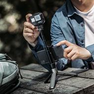 1pgytech用于gopro8手持自拍支架三腳架gopro67運動相機配件