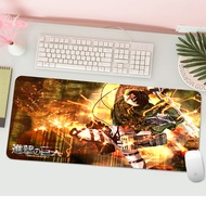 Attack On Titan Durable Rubber Mouse Mat New Arrive Large game Gaming Mouse Pad