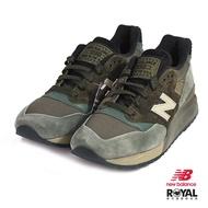 New Balance 新竹皇家 998 灰綠色 麂皮 網布 美製 拼接 休閒運動鞋 男款 NO.B0401