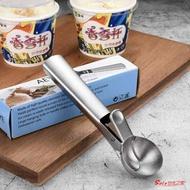 雪糕勺 冰淇淋勺挖球器不銹鋼家用勺子餐具水果挖西瓜商用冰激凌雪糕勺匙 99購物節
