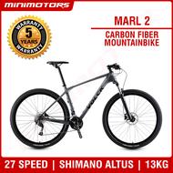 [Preorder] ★VOLCK Marl 2 Mountainbike ★ Carbon Fiber Bicycle/Shimano Altus M2000/27S/13kg/ SAVA/ 5 Years Warranty [EST: 31 May 2021]