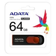 【ADATA威剛】上推式隨身碟 16GB/ 32GB/ 64GB (黑,白)C008