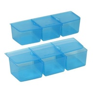 ★FREE SHIPPING★Snapware Snap N Stack Six Section Divider Insert (2 Pack)