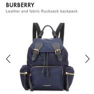 英國代購🇬🇧Burberry the rucksack 中號 尼龍軍旅後背包 黑/藍/酒紅/綠/軍綠