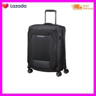 SAMSONITEกระเป๋าเดินทางล้อลากแบบผ้า CABIN BAG TSA รุ่น PRO-DLX 5 EXP สีดำ ขนาด 20 นิ้ว พร้อมส่ง