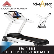 TM-1188 Foldable Treadmill ★ Incline Adjustment ★ Air Suspension ★ Touch Screen ★ Home Gym ★ Jogging