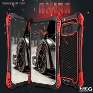 Samsung 系列 三星s8金屬三防手機殼 S9 plus防摔防水殼S8 tpu硅膠手機殼 鐵殼 金屬保護蓋
