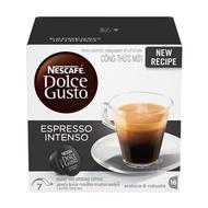 [COF] แคปซูลเครื่องชงกาแฟ NESTLE NEW ESPRESSO INTENSO เทคโนโลยีการจ่ายน้ำแบบหมุนวนช่วยทำให้รสชาติกาแฟดีมากขึ้น อุปกรณ์ เครื่องชงกาแฟ อุปกรณ์กาแฟ ชงกาแฟ ดริปกาแฟ กาแฟ ทำกาแฟ