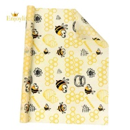 Beeswax Food Wrap, Reusable Beeswax Wraps Roll 1 Metre (13 Inchx39 Inch) Organic Food Storage Nature Beeswax Wrap for Sandwich,Bread,Cheese,Fruit Eco Friendly
