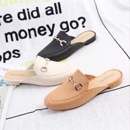 Beauty shoes พร้อมส่งในไทย รองเท้าคัชชูเปิดส้น ดีไซน์สวยทันสมัยให้สัมผัสนุ่มเบาแบบอะไล สวมใส่สบายได้ทั้งวัน...ห้ามพลาด‼
