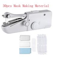 Perfeclan จักรเย็บผ้าไฟฟ้าขนาดเล็กเครื่องมือเย็บและหน้ากากทำผ้าไม่ทอ