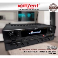 Konzert AV-303B BT (Latest Model) Karaoke Amplifier