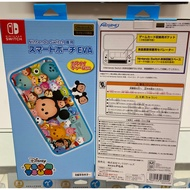NS SWITCH 迪士尼 Tsum Tsum 主機包 硬殼包 保護包 收納包 maxgames 任天堂 原廠 授權