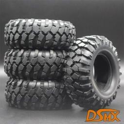 1.9寸攀爬輪胎胎皮D90 F350 SCX10 96MM 攀岩胎攀爬履帶車通用