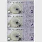 【耀典真品】北極 2 元 三連體 - 絕版塑膠鈔