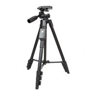 fujiei 手機相機藍牙鋁合金4節自拍三腳架(附美拍螺紋鎖大手機夾子)可充電藍牙遙控器(NCC認證) 超值價