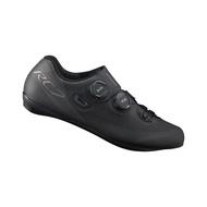 SHIMANO RC701 競賽級碳纖維男性公路車鞋 卡鞋(公司貨寬楦)(黑)【7號公園自行車】