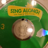 寰宇 sing along cd 三片 正版 迪士尼 DWE zippy