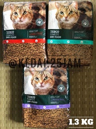 [t1] Cat Food & Treats : Lotus Formerly Known Tesco Adult Cat Complete Dry Food 1.3kg / 3kg