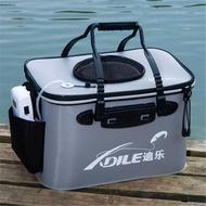 29驚喜熱銷@@釣魚桶新款充氧泵箱氧氣泵魚桶活魚箱手提大號攜帶式一體