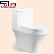 WC toilet bowl SG1915 1 Piece Water Closet toilet bowl FREE NTUC Voucher