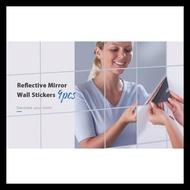 Mirror Wall Stickers Mirror Wall Sticker Wallpaper Set 9pcs